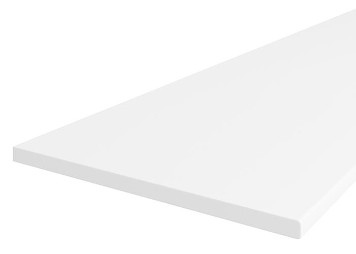 blat 38 mm biały