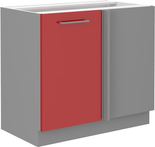 Red szafka 105 ND 1F czerwony