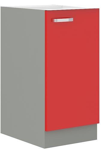 Red szafka 40 D 1F czerwony