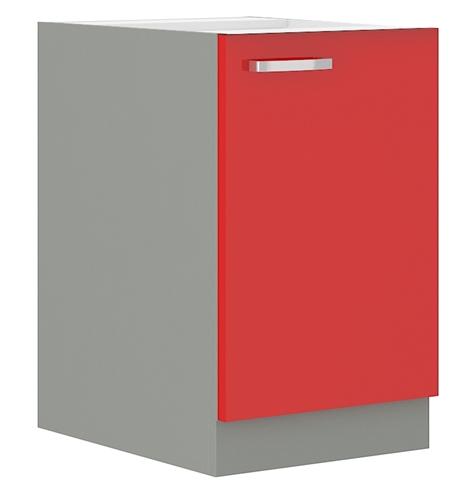 Red szafka 60 D 1F czerwony