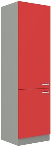 Red szafka 60 DK-210 2F czerwony