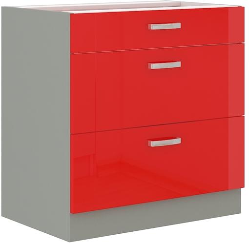 Red szafka 80 D 3S czerwony