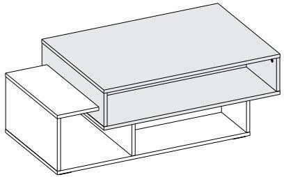 Arend stolik 150 cm okolicznościowy techniczne