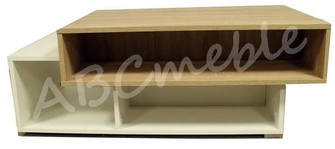 Arend stolik 150 cm okolicznościowy dąb sonoma biały mat