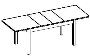 Desjo 42 stół rozsuwany do 210 cm techniczne