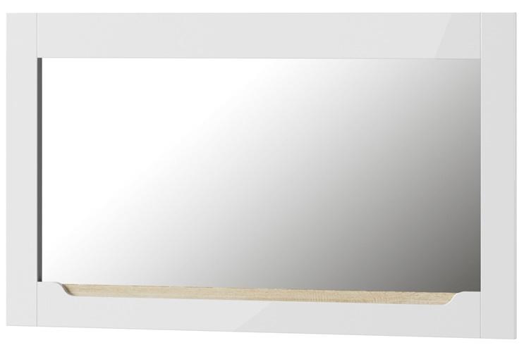 Ice 30 lustro biały połysk ze wstawką dąb sonoma