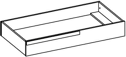 Ikar 53 szuflada pod łóżko techniczne