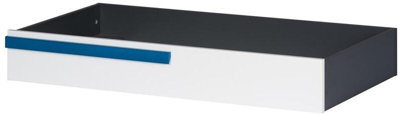 Ikar 53 szuflada pod łóżko grafit biały