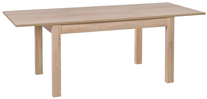 Jowisz stół 136-210 cm rozsuwany rozłożony dąb sonoma