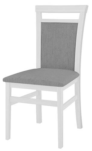 Meris 101 krzesło biały mat sawana 21