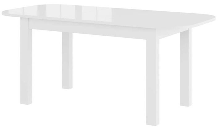 Rea stół 140-175-210 cm rozsuwany biały połysk rozsunięty