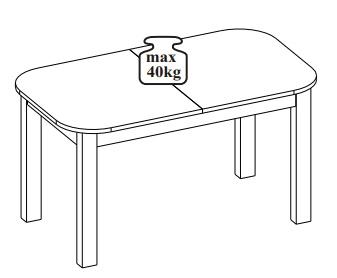 Rea stół 140-175-210 cm rozsuwany techniczne udźwig