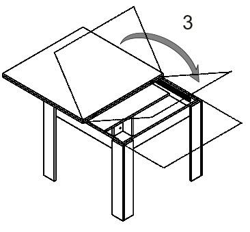 Saturn 40 stół 90-180 cm rozsuwany techniczne