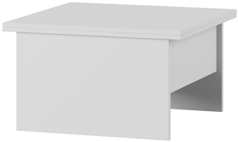 SPACE 1 stolik 80-160 cm okolicznościowy rozkładany biały mat
