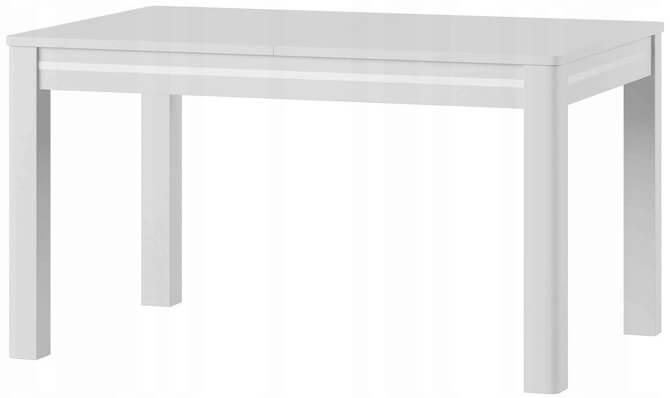 Sunny 1 stół 136-210 cm rozsuwany biały połysk