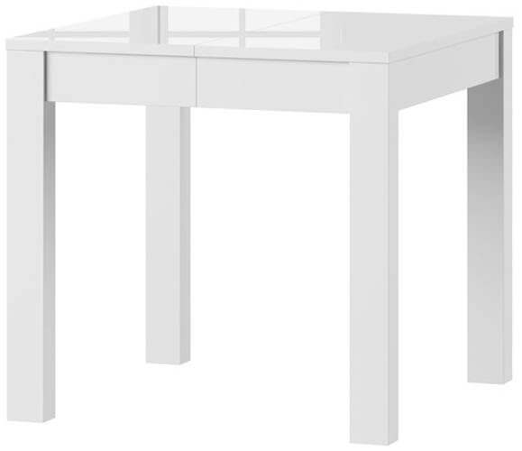 Vega stół 80-230 cm rozsuwany biały połysk