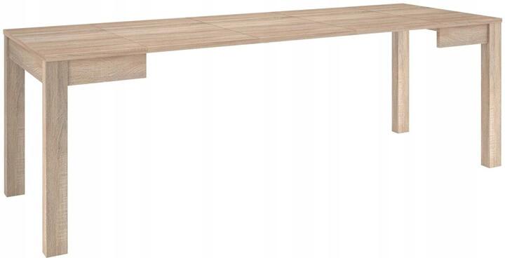 Vega stół 80-230 cm rozsuwany rozłożony dąb sonoma