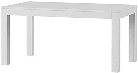 Wenus stół 160-300 cm rozsuwany biały mat