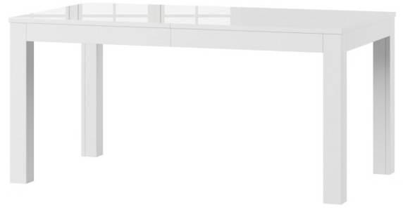 Wenus stół 160-300 cm rozsuwany biały połysk