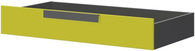 Wow szuflada do łóżka grafit zieleń iguana
