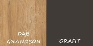 DĄB GRANDSON + GRAFIT