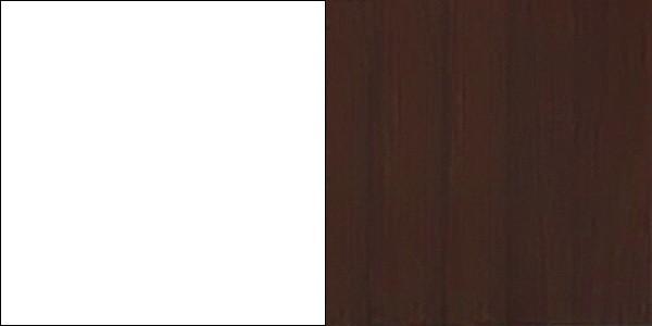 korpus:BIAŁY / front:WENGE